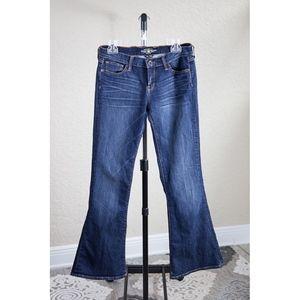 Lucky Brand Dark Wash Charlie Flare Jeans Sz 6/28